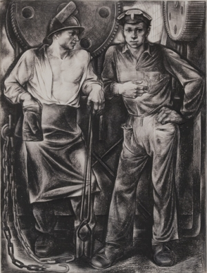 Dimarin, A.- Resting Workers